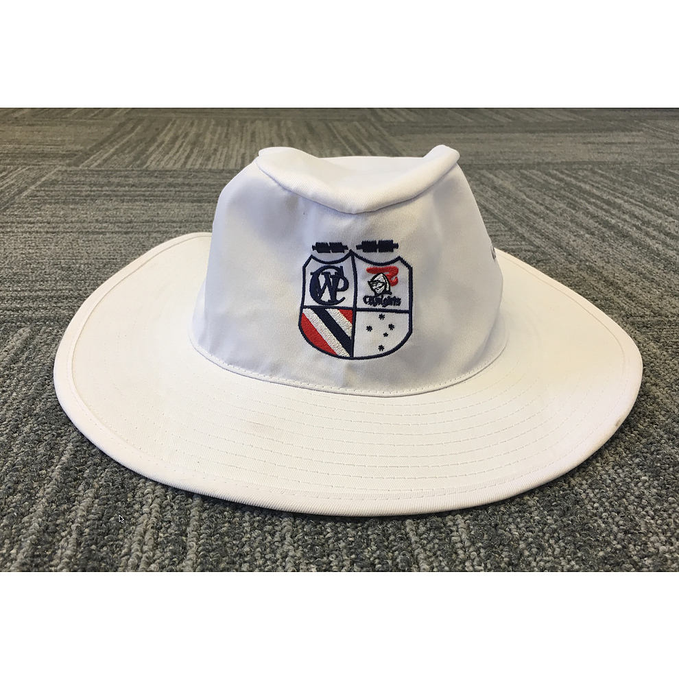 CWP JCC White Wide Brim Hats - Image 1