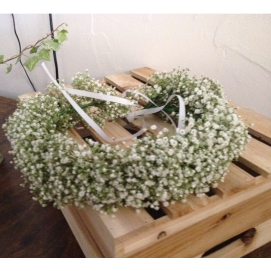 Gypsophila Flower Crown - Image 1