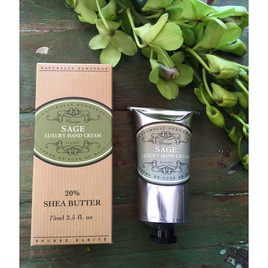 Naturally European Luxury Hand Cream - Sage - Image 1