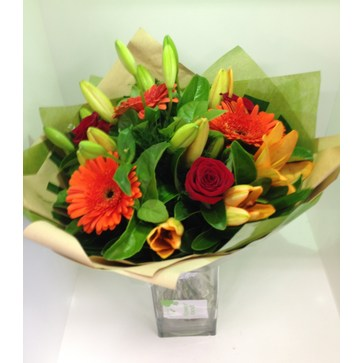 more on Orange and Red Bouquet