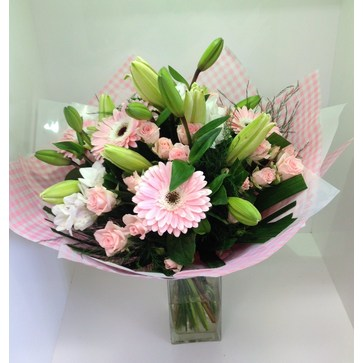 more on A Pastel Pink Bouquet