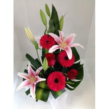 more on Pink and Red Arrangement