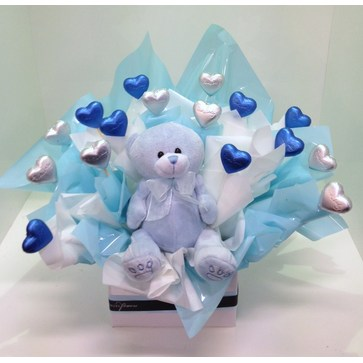 more on Baby Boy Chocolate Bouquet