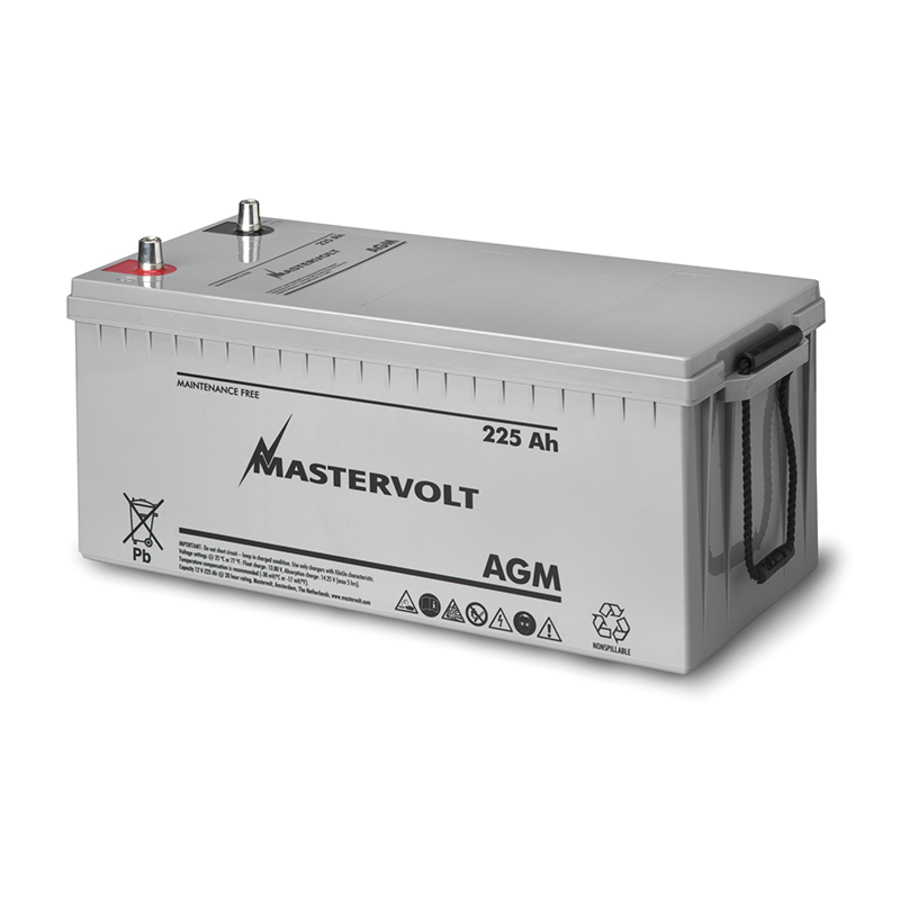 Mastervolt Battery - AGM 12/225