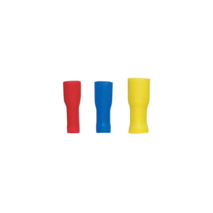 Pre-insulated External Spade Terminals - Red 10 Pack