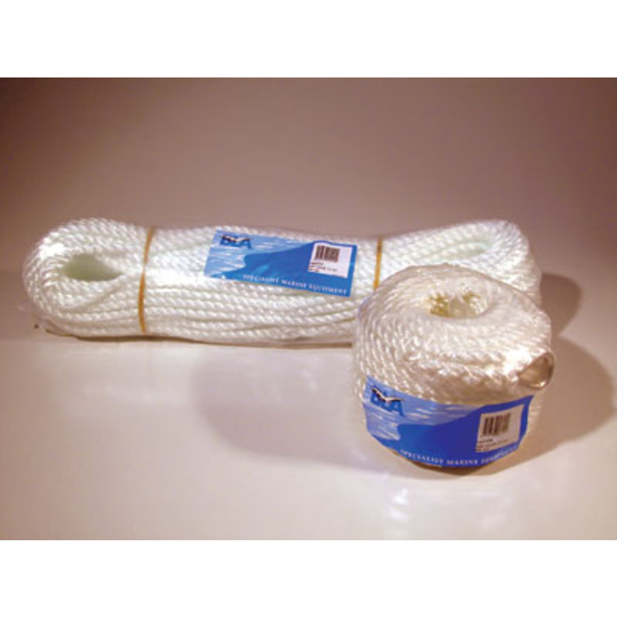 BLA Silver Anchor Rope Hanks and Coils