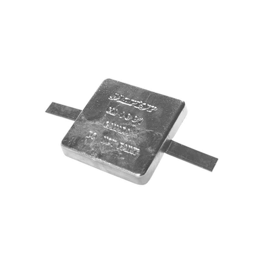 Anode Block With Strap 155x155x28mm