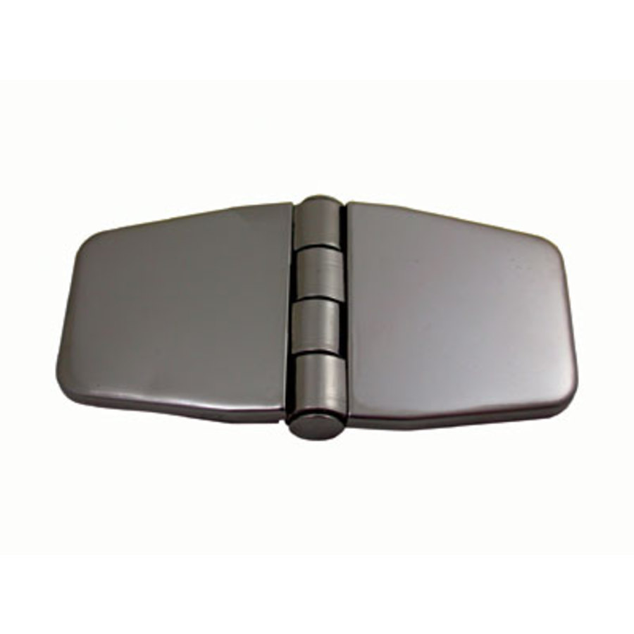 Hinge Covered Low Profile S/S 80x40mm Pr