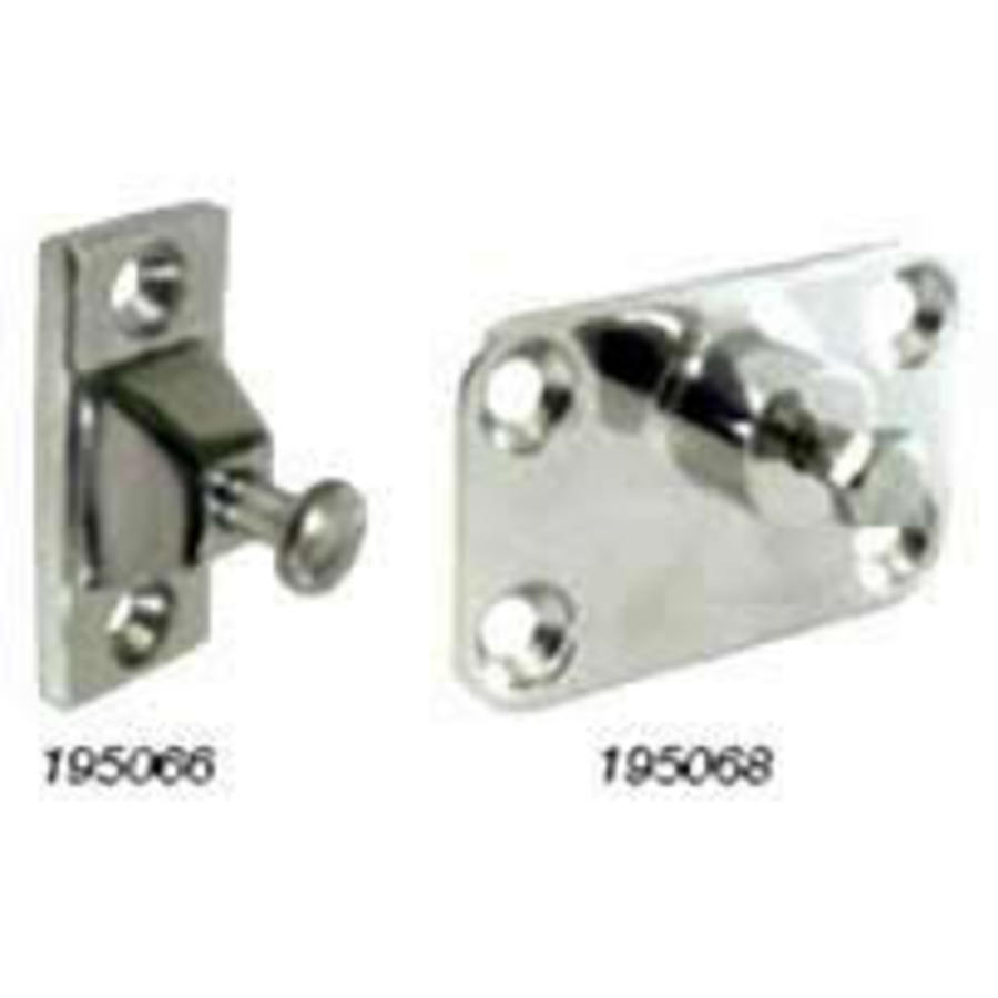 Canopy Side Mounts - Stainless Steel