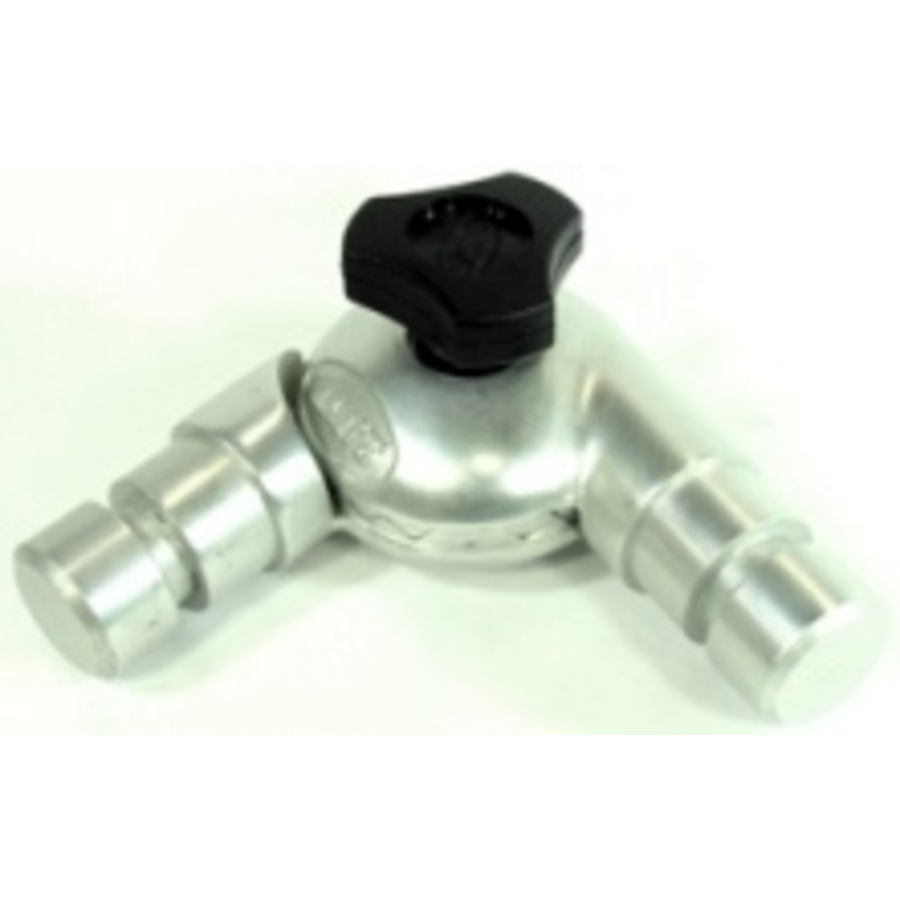 Canopy Elbow Joint Cast Alloy 25x1.6mm#