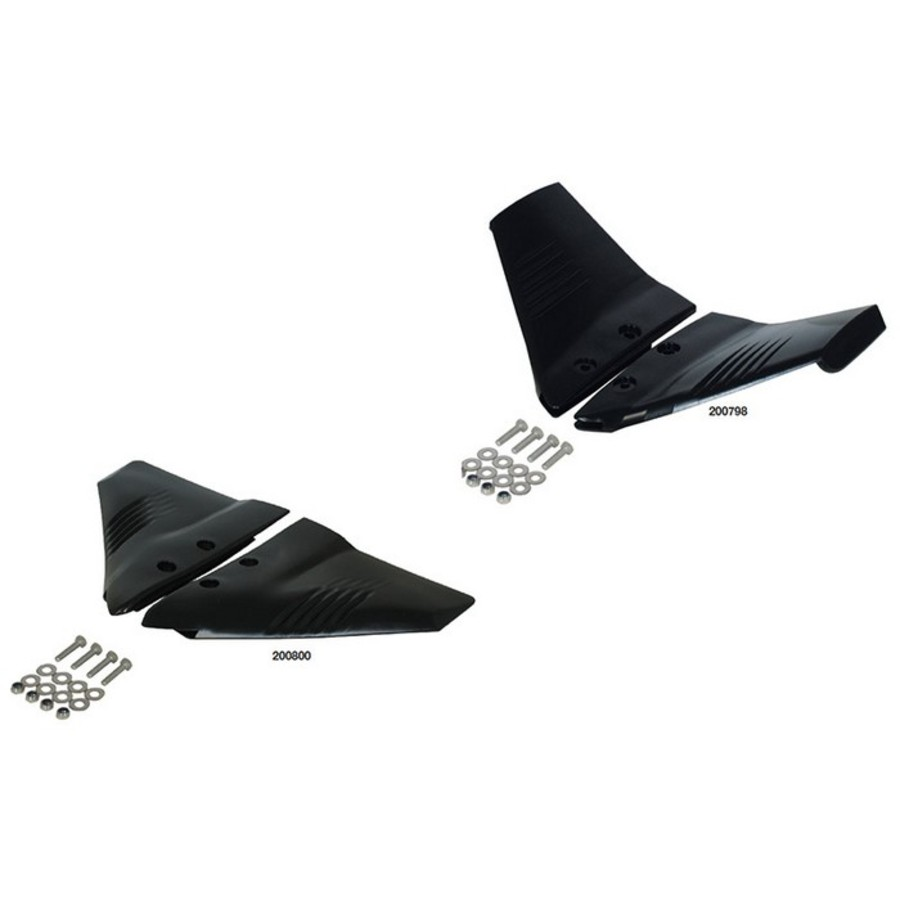 Hydrofoil For Outboards To 50Hp Black