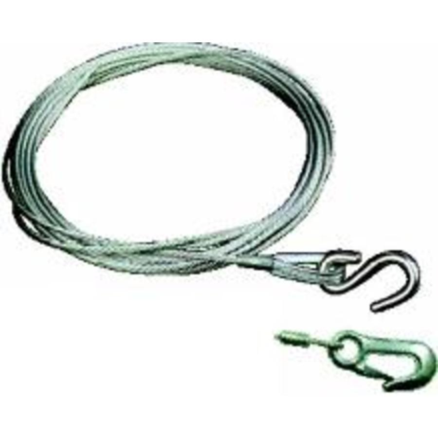 Winch Cable With Snap Hook 9.1m X 4.8mm