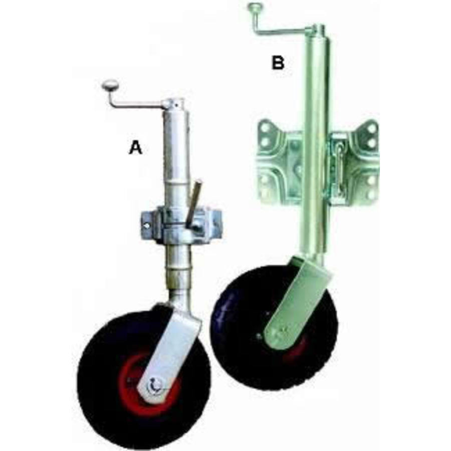 JocKey Wheel 250mm Pneumatic Clamp Fix - Image 1