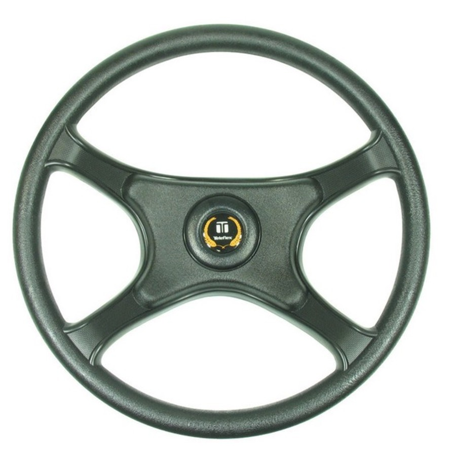 Wheel Laguna Black Pvc 335mm - Image 1