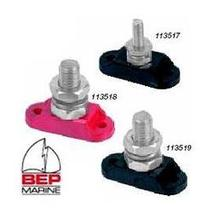 more on BEP Insulated Single Power Stud - 6mm Red