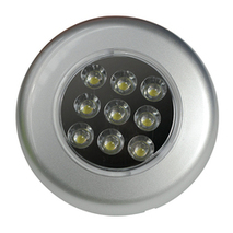 more on Mini Dome Light - LED Recessed Silver