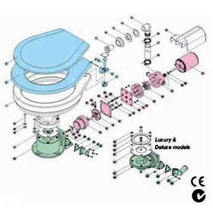 more on Motor Only 12v TS Electric Toilets