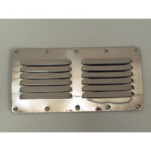 more on Louvre Vent - Stainless Steel 2x6 Louvres