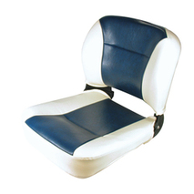 more on Navigator Seat - Navy and Off White