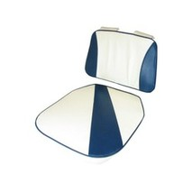 more on Upholstery Set For Bay Seat Blue White