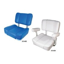 more on Upholstered Seat Deluxe - White Frame with White Vinyl