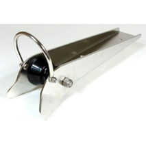 more on Captured Anchor Roller - Stainless Steel