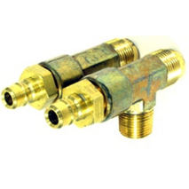 """more on Cylinder Bleed T - 3/8\"""" NPT 1/2\"""" tube"""