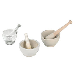 more on Mortar and Pestles, Glazed or Unglazed