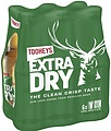 TOOHEYS EXTRA DRY 345ML STUBBIES 6PK