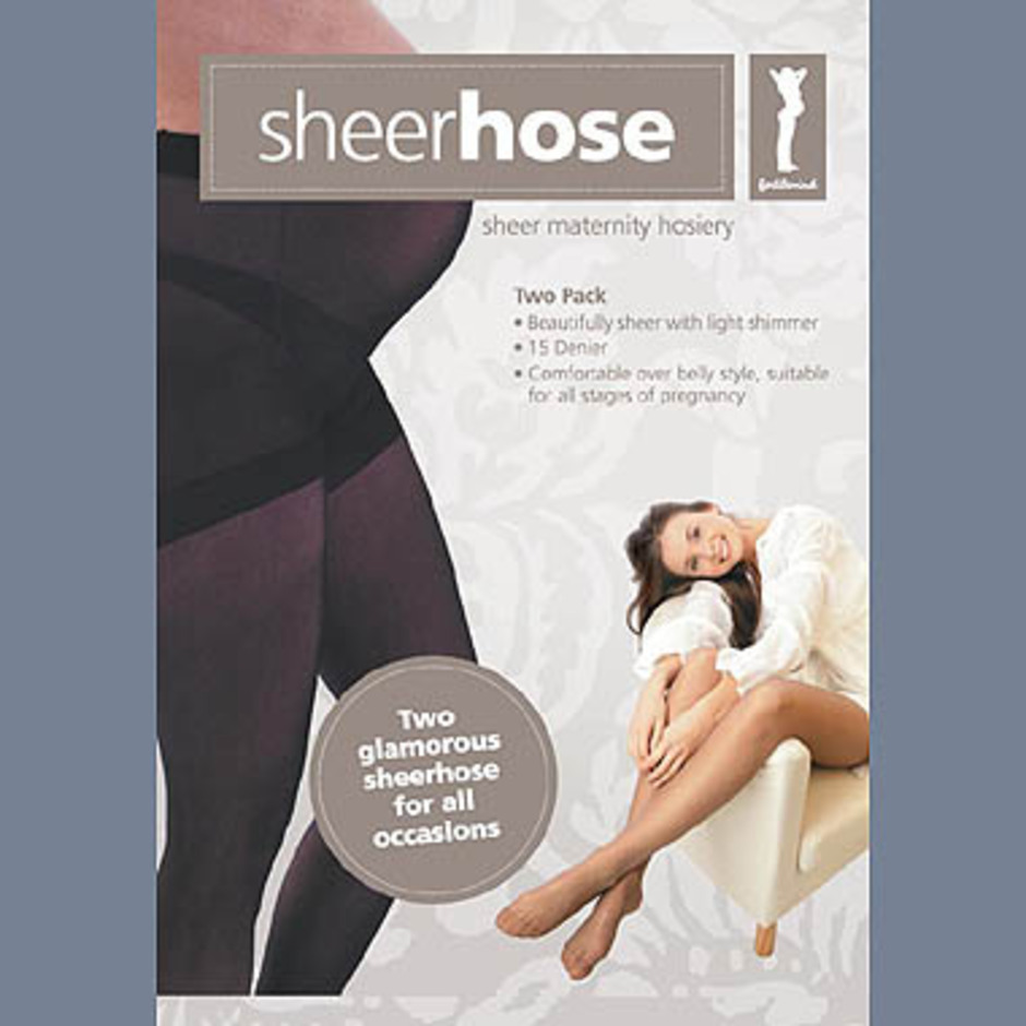 Fertile Mind Sheerhose Black Multi-fit 2 Pack - Image 1