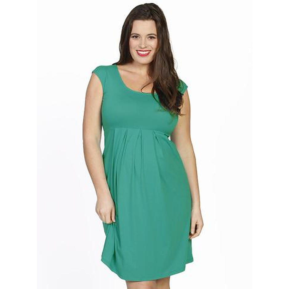 more on Angel Lucy Cap Sleeve Cotton Dress Jade Green 805E