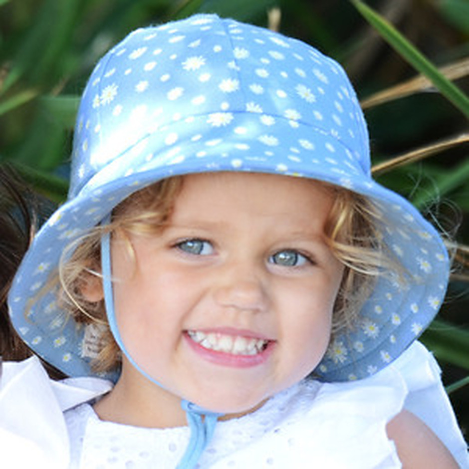 more on Bedhead Girls Baby Bucket Hat 'Daisy' Print
