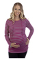 more on Ninth Moon Breastfeeding Stripe Hoodie 699