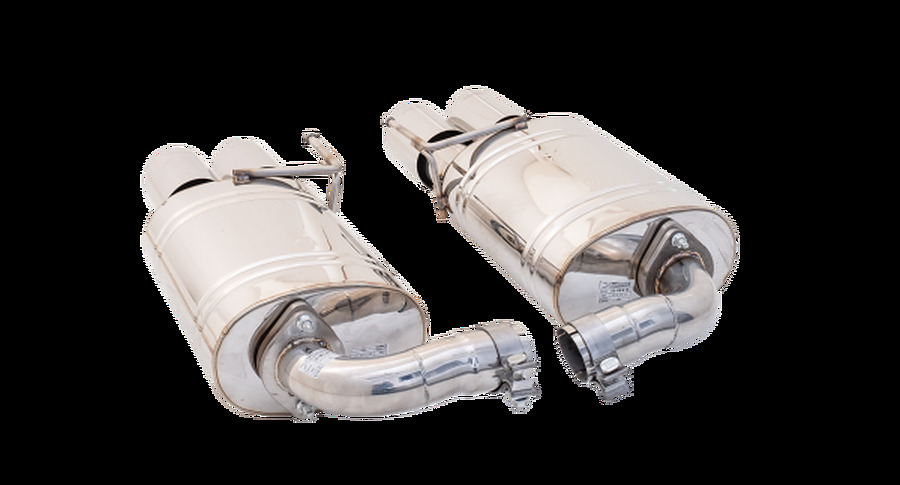 Ford Mustang 2018 Axle Back  Rear Mufflers and Quad Tips - Image 2