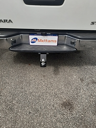 more on Trailboss Towbar for Nissan NAVARA D40 SINGLE and Dual CAB (w/ step) - 3000/300 KGS Towing Capacity- Vehicles built 1/10-4/15