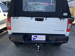 more on Trailboss Towbar for Isuzu D-MAX 2WD-4WD (with step) - 3000-300 KGS Towing Capacity- Vehicles built Oct 08-May 12