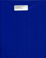 more on Cello Sheets - ROYAL BLUE