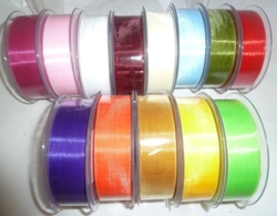 more on ORGANZA 25MM X 50 METRE ROLL