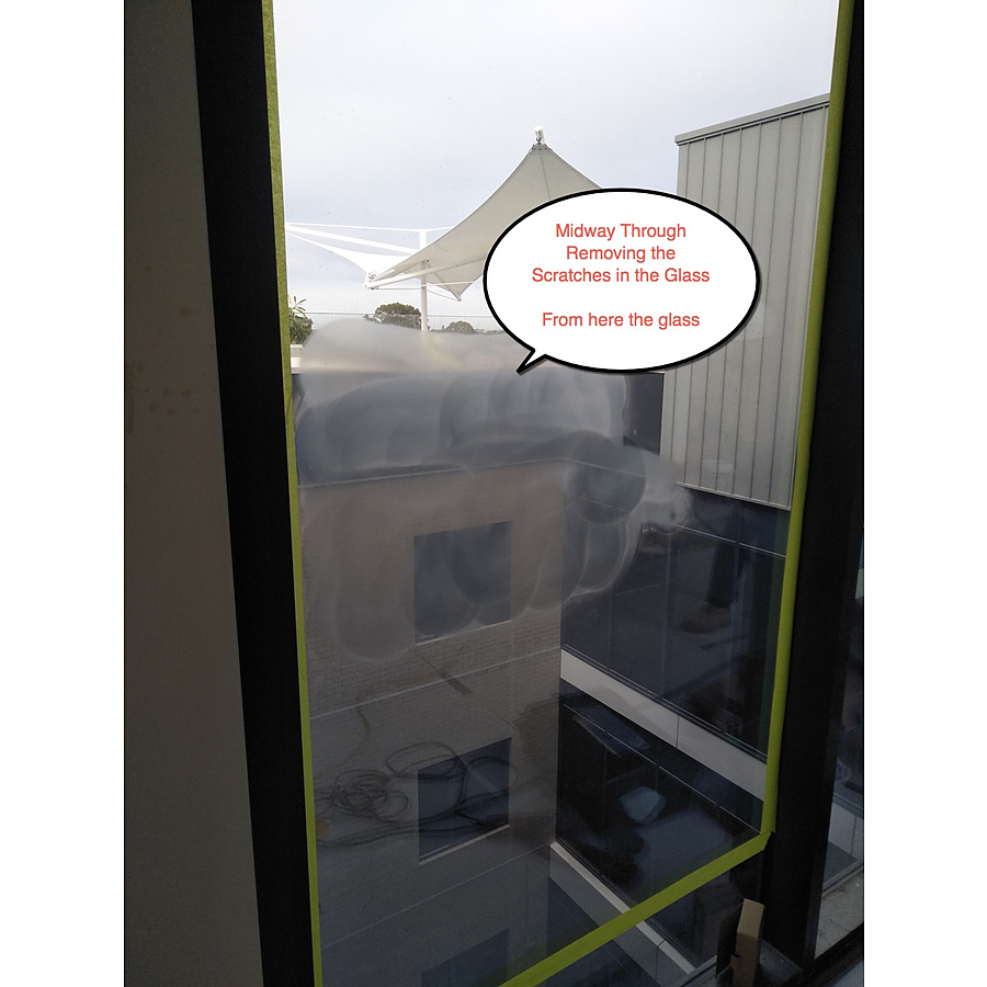Window Cleaner Scratches Glass