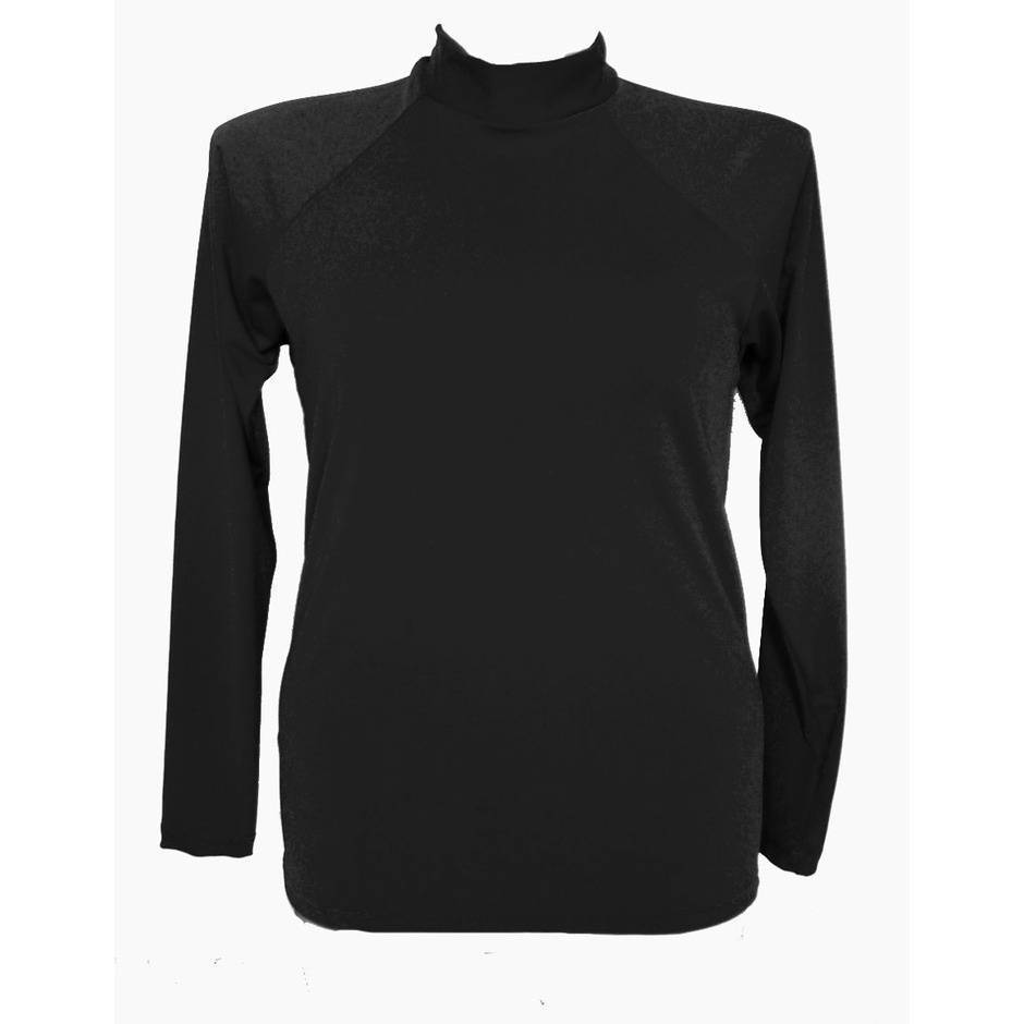 Long Sleeve Rash - Black 2XL - 4XL - Image 1