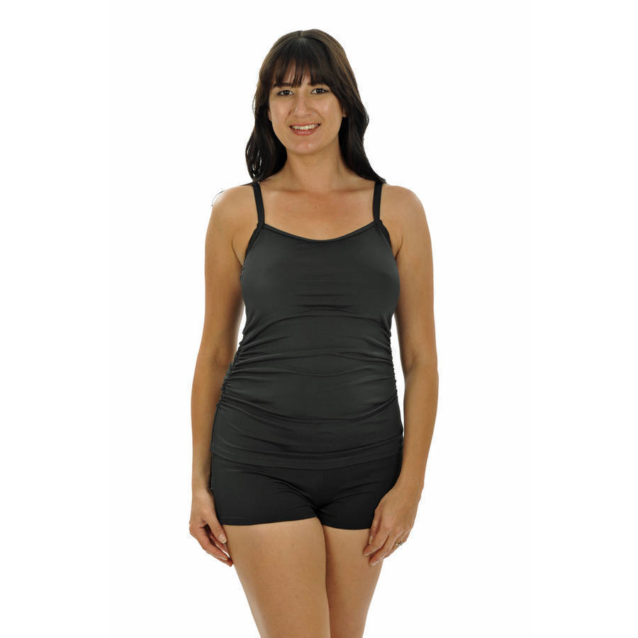 more on Tankini Top Black Mastectomy