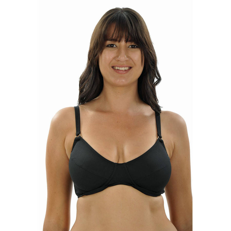 more on Swim Bra Black Chlorine Resist