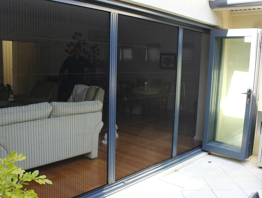 Retractable Fly Screens for Naval Base