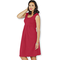 more on Angel Lucy Maternity Cap Sleeve Little Cotton Dress Hot Pink 8053C