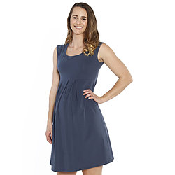more on Angel Lucy Maternity Cap Sleeve Little Cotton Dress Prussian Blue 8053D