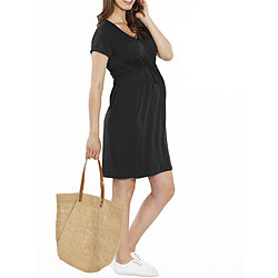 more on Angel Maternity TMD The Mummy Drawstring Dress Black R801B