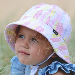 more on Bedhead Girls babyBucket Hat 'Feather' Print