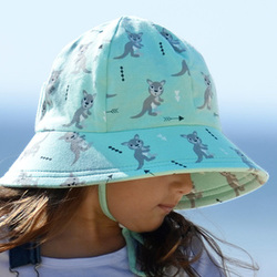 more on Bedhead Ponytail Bucket Hat 'Joeys' Print