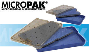 Micropak Microsurgical Instrument Trays - Image 1
