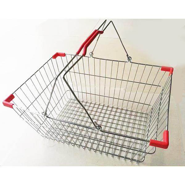 Wire Basket with Carry Handle - Image 1